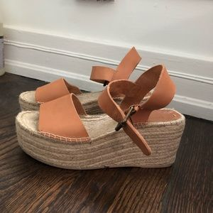 4c73f7069ca3 Soludos Shoes - Soludos Leather Platform Sandals (worn twice!!)